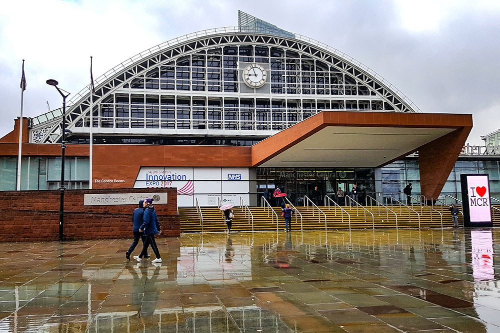 Manchester Central, venue for Expo17NHS